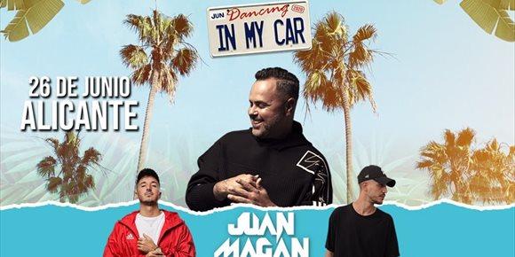 3. Juan Magán encabeza 'Dancing in my car', el primer festival español itinerante en formato autocine