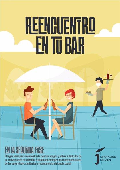 Coronavirus.- MásJaén.- Campaña de Diputación para promocionar el sector provincial de bares y restaurantes