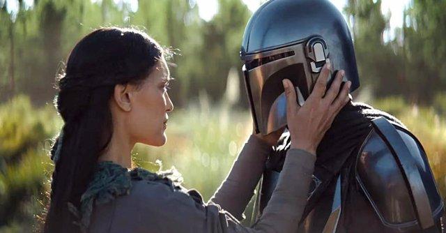 Imagen de The Mandalorian, la serie de Star Wars