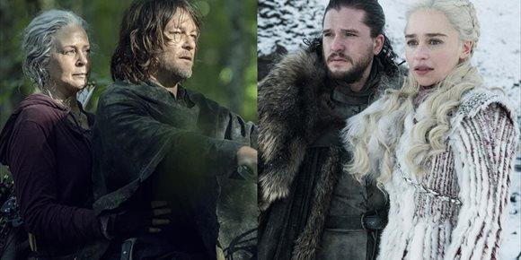 1. Norman Reedus (Daryl): El final de la temporada 10 de The Walking Dead es como Juego de tronos