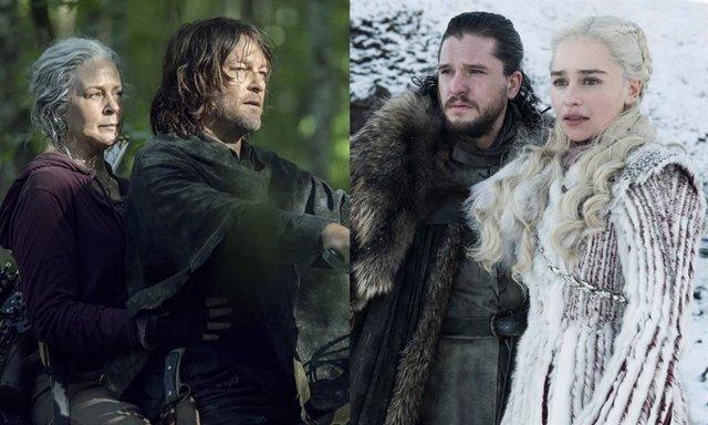 El final de la temporada 10 de The Walking Dead será parecido a Juego de tronos