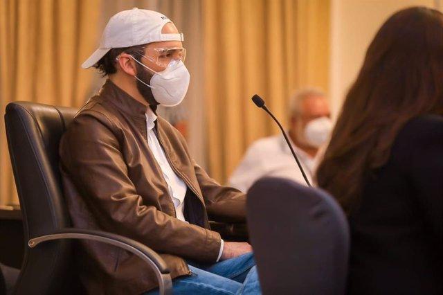 """Coronavirus.- Bukele acusa a los diputados de """"planificar la muerte de los salva"""