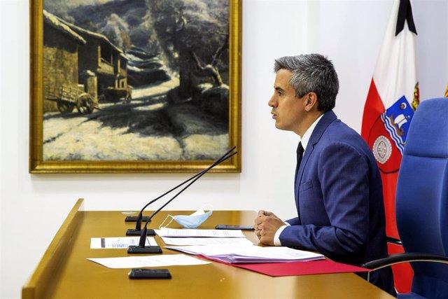 El vicepresidennte de Cantabria y consejero de Universidades, Igualdad, Cultura y Deporte, Pablo Zuloaga