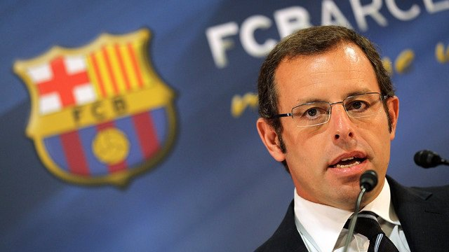 Sandro Rosell Barcelona
