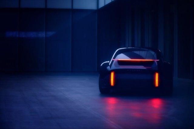 Nuevo prototipo eléctrico de Hyundai Prophecy.