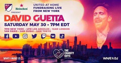 David Guetta emitirá una actuación en Facebook e Instagram para recaudar fondos contra la COVID-19