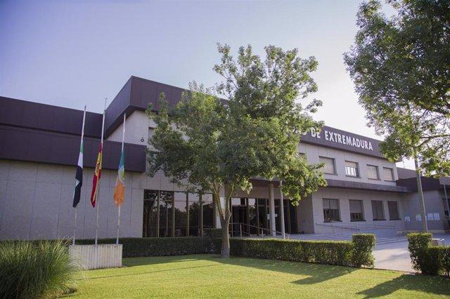 Edificio del Rectorado de la UEx en Badajoz