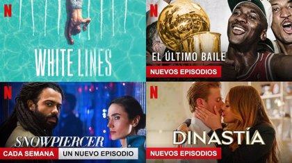 Las series y películas más vistas en Netflix