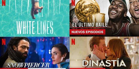 5. Las series y películas más vistas en Netflix