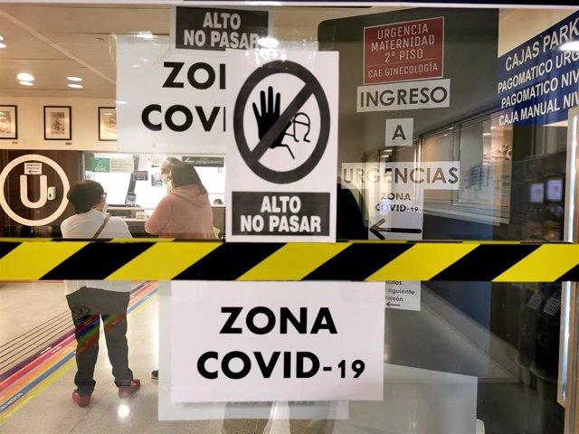 Hospital El Carmen de Santiago de Chile durante la pandemia de coronavirus