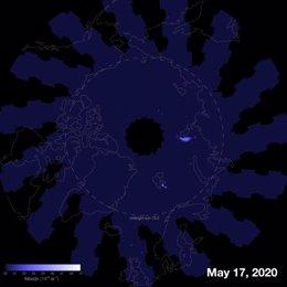 Las nubes noctilucentes se adelantan este año en el hemisferio norte