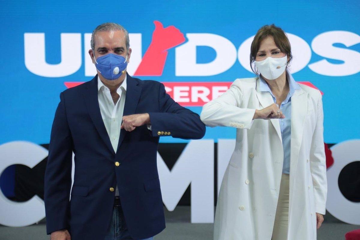 El candidato opositor Luis Abinader ganaría en primera vuelta las ...