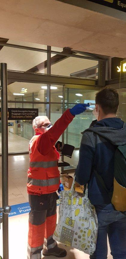 El Gobierno de Canarias destina 50.000 euros para controlar la temperatura en los aeropuertos
