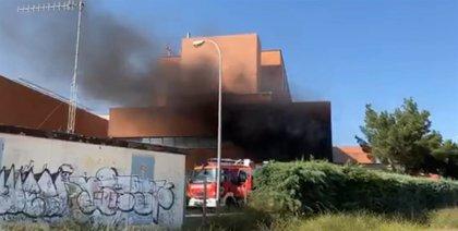 Declarado un incendio en el Hospital de Hellín que obliga a desalojar a numerosos pacientes