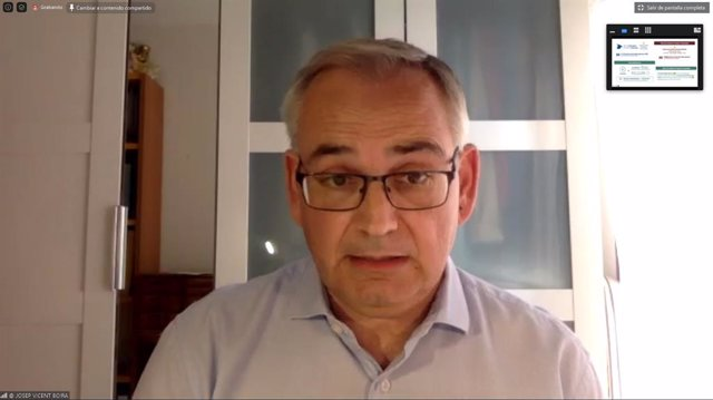 El comissionat del Govern per al Corredor Mediterrani, Josep Vicent Boira.