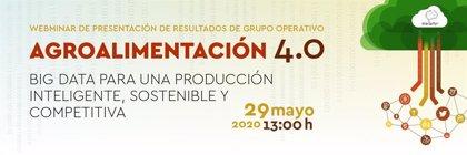 Industrias de Alimentación y Bebidas de Aragón y el Clúster de Alimentación lanzan un seminario sobre Agroindustria 4.0