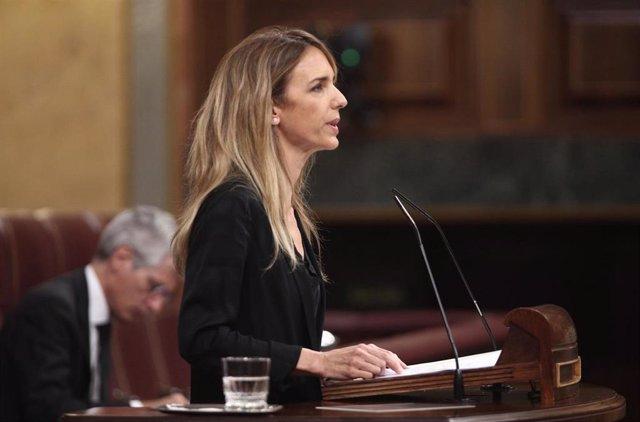 La portavoz del Grupo Popular en el Congreso de los Diputados, Cayetana Álvarez de Toledo.