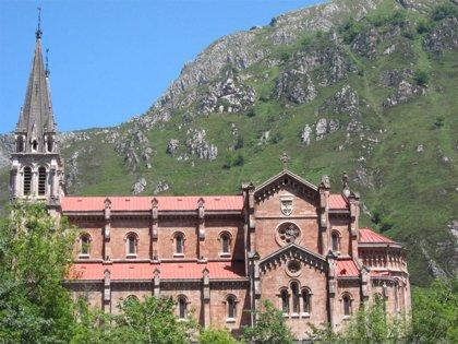 La carretera a la basílica de Covadonga abrirá al tráfico el 5 de junio