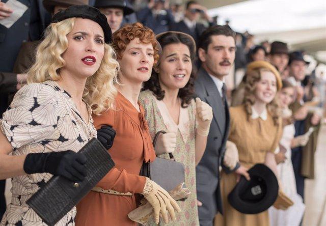 Imagen de la última tempoarda de Las Chicas del Cable
