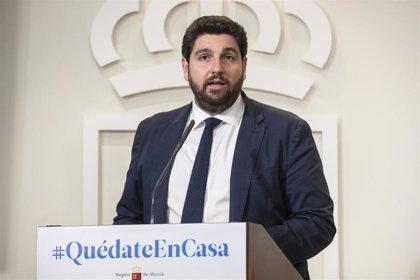 """López Miras (PP) dice que no le gustó la intervención de Álvarez de Toledo contra Iglesias: """"Debemos estar a la altura"""""""
