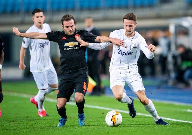 Fútbol.- El LASK austríaco pierde seis puntos por saltarse el protocolo de segur