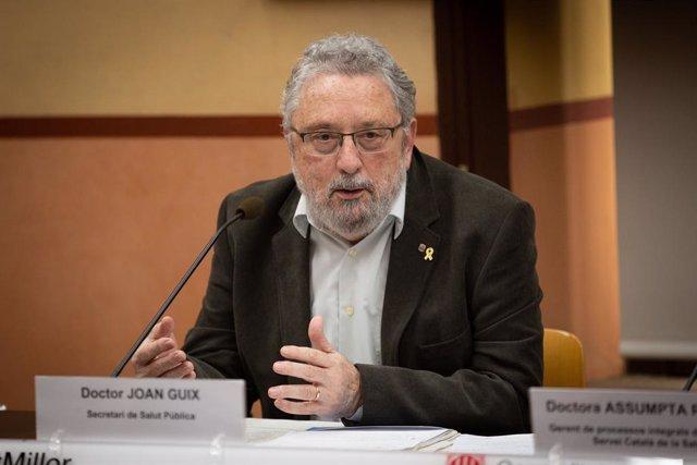 El secretari de Salut Pública, Joan Guix