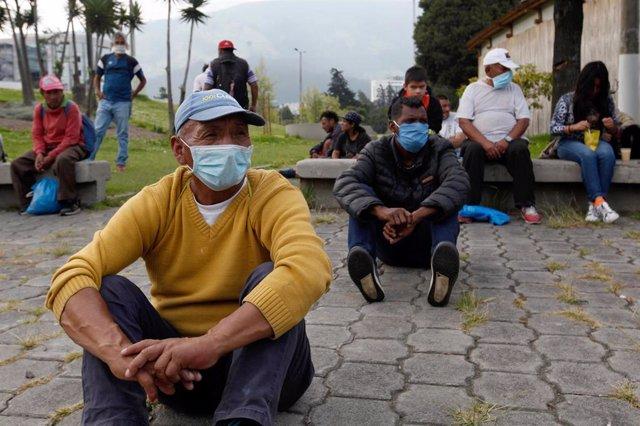 Coronavirus en Quito, Ecuador.