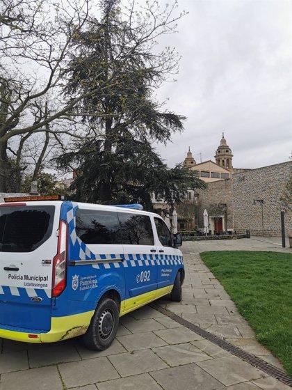 Policía Municipal de Pamplona realiza 4 propuestas de sanción por incumplir el estado de alarma