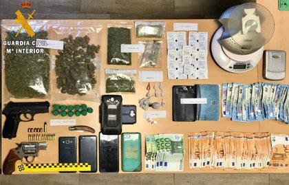 Detenidos tres hermanos en Liébana por tráfico de droga