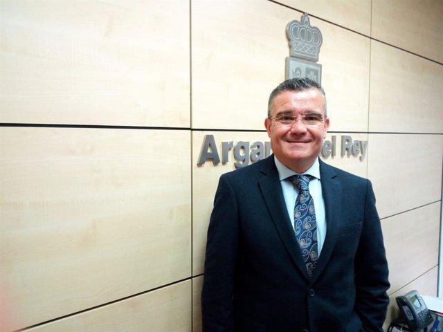 El alcalde de Arganda del Rey, Guillermo Hita