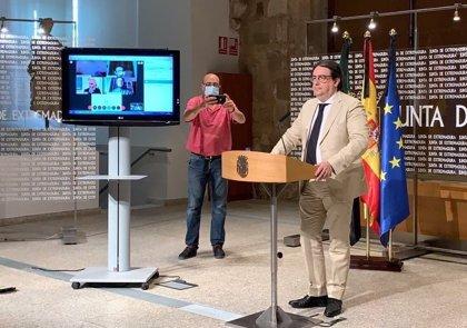 Extremadura trabaja en el informe para solicitar el paso a la fase 3 de desescalada de Cáceres y Badajoz