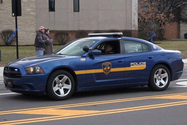 Coche de Policía en Kentucky