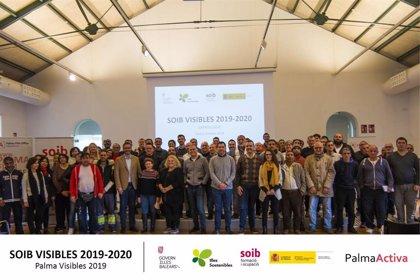 Un total de 81 personas del SOIB Visibles finalizan su trabajo en el Ayuntamiento de Palma