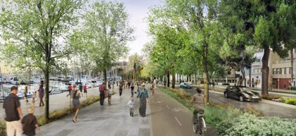 Las obras de remodelación del Paseo Marítimo de Palma eliminarán un carril de coches