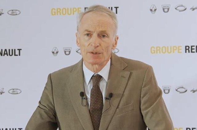 El presidente de Renault, Jean-Dominique Senard.