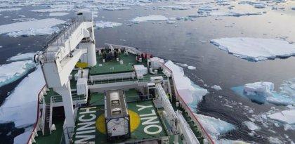 El hielo antártico se perdía 10 veces más rápido en la última deglaciación