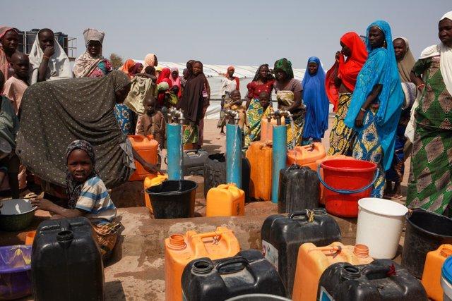 Nigeria.- Al menos dos personas muertas y miles a la intemperie por un incendio