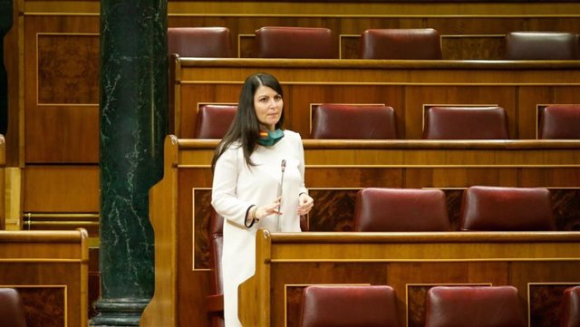 La diputada de Vox por Granada Macarena Olona