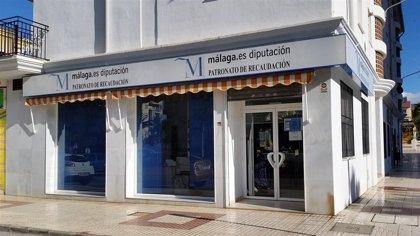 El Patronato de Recaudación de Málaga amplía el plazo para fraccionar y aplazar pago de tributos en 98 municipios