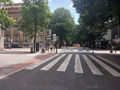 Bilbao habilita sábado y domingo zonas peatonales en Begoña, Abando, Ibaiondo, Deusto, Otxarkoaga-Txurdinaga, y Uribarri
