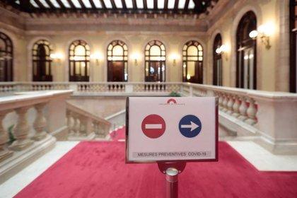 El Parlament adapta sus espacios para retomar la actividad presencial el 15 de junio