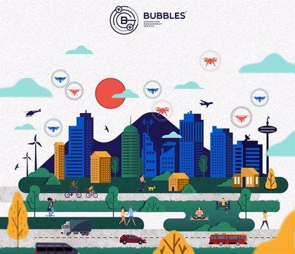 """Bubbles: Un proyecto de la UPV crear """"burbujas de seguridad"""" alrededor de los drones para evitar accidentes"""