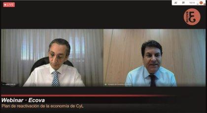 """Carriedo ve """"realista"""" alcanzar en 2022 el nivel de PIB que CyL tuvo en 2019"""