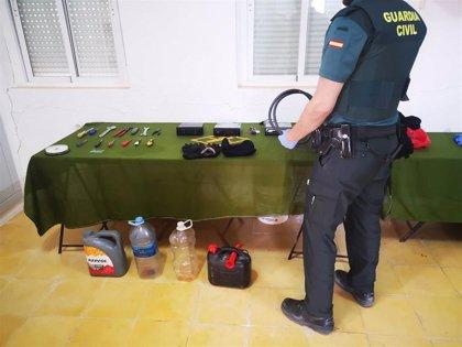 Detenido un vecino de Guadahortuna (Granada) acusado de siete robos con fuerza