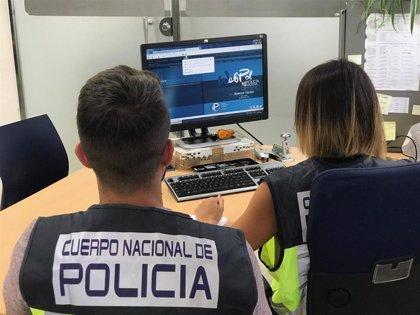 Detenido en Málaga un joven por pedir vídeos sexuales a una menor de 15 años que conoció en las redes sociales