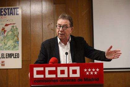 """CCOO critica el """"raquítico"""" plan de reactivación de la Comunidad y exige acuerdos en vez de """"política sectaria"""""""