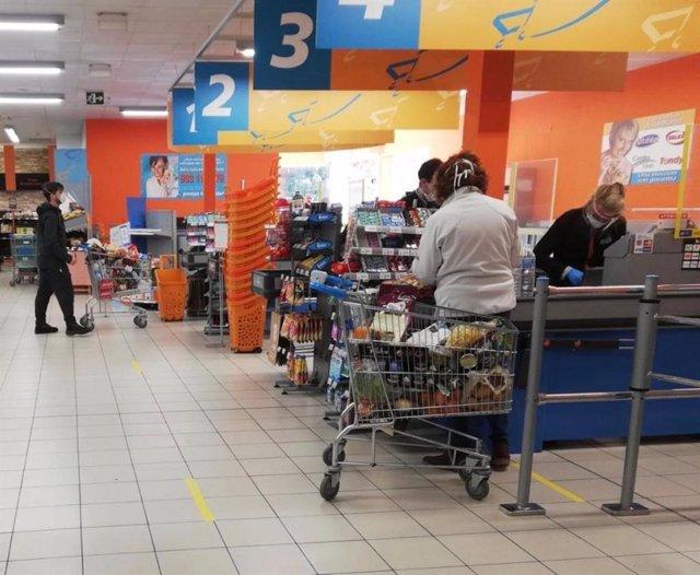 Supermercado. Archivo