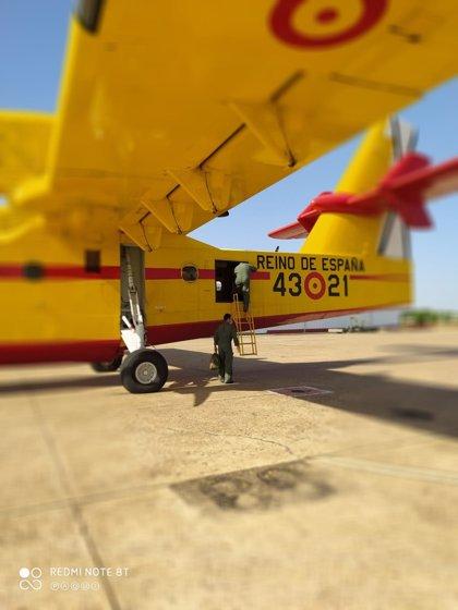 El 43 Grupo de Fuerzas Aéreas se desplegará en la Base de Talavera (Badajoz) en la campaña contra incendios forestales