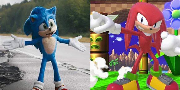 1. En marcha Sonic 2... ¿con Knukles y las Esmeraldas del Caos?