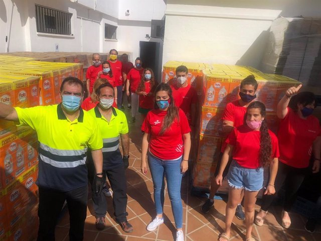 Cádiz.-Coronavirus.- Fundaciones Persán y Cepsa distribuyen una segunda entrega